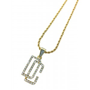 Iced Out Dream Chasers Pendant Necklace